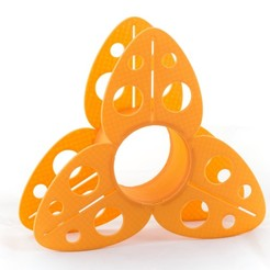 Download free STL Trillium Filament Spool, WalterHsiao