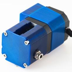 Descargar diseños 3D gratis Quadstruder K7 - Extrusora de doble accionamiento, WalterHsiao