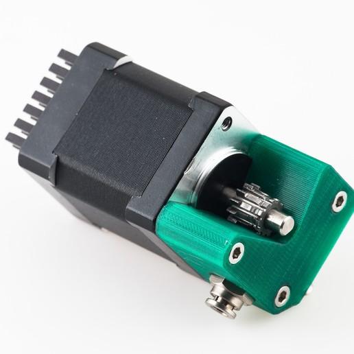 Télécharger fichier imprimante 3D gratuit Gearstruder J4 - Extrudeuse à double entraînement, WalterHsiao