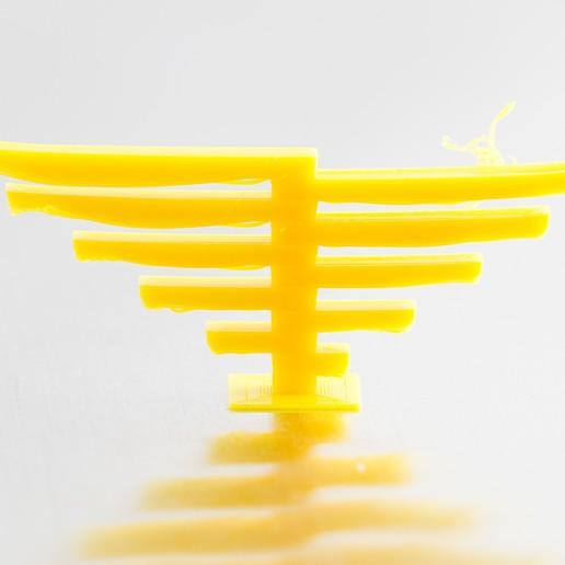 Download free 3D printer designs Cantilever Test Print (customizable), WalterHsiao