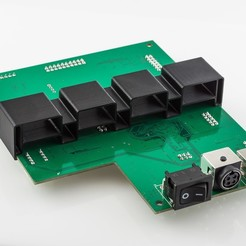 Download free 3D print files RigidBot Mainboard Support, WalterHsiao