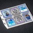 Télécharger objet 3D gratuit Support de carte SD plat, WalterHsiao