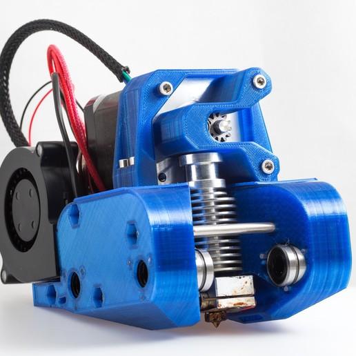 IMGP0351.jpg Télécharger fichier STL gratuit Montage de l'extrudeuse à réservoir (RigidBot, E3Dv6, Printrbot Gear Head) • Plan imprimable en 3D, WalterHsiao