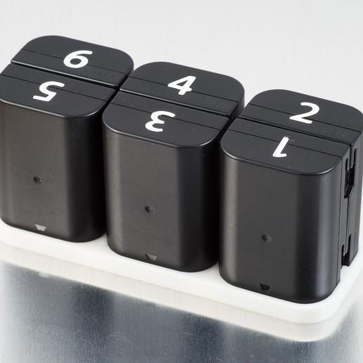 Download free 3D printing files D-Li90 Battery Trays (Pentax), WalterHsiao