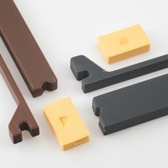 Télécharger fichier impression 3D gratuit Ailerons de planche de surf vierges, WalterHsiao