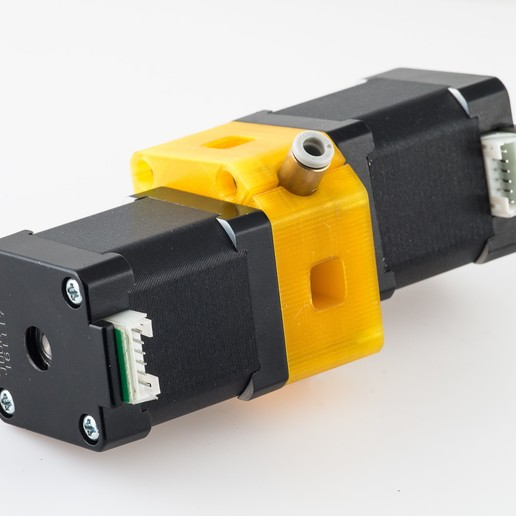 Download free 3D printing designs Fostruder K4 - Dual Drive Extruder, WalterHsiao