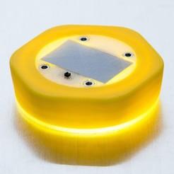 Descargar Modelos 3D para imprimir gratis Linterna solar con tapa de botella, WalterHsiao