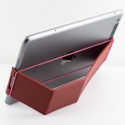 Télécharger fichier STL gratuit Mini porte-clip pour iPad, WalterHsiao