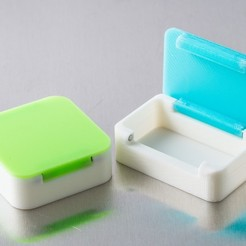Download free 3D printer files Customizable Magnetic Hinge Box, WalterHsiao