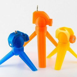 IMGP2640.jpg Download free STL file Mini Tripods • 3D print template, WalterHsiao
