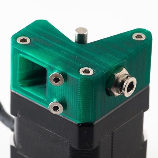 IMGP7233.jpg Télécharger fichier STL gratuit Gearstruder J7 - Extrudeuse à double entraînement • Design pour impression 3D, WalterHsiao