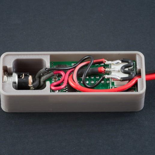 IMGP6510.jpg Download free STL file Voltmeter/Ammeter Case - 1 • Template to 3D print, WalterHsiao