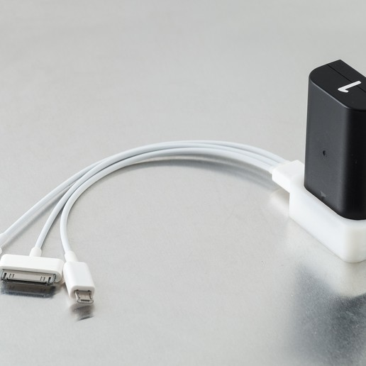 IMGP1821.jpg Download free STL file D-LI90 USB Charger v2 • 3D print design, WalterHsiao