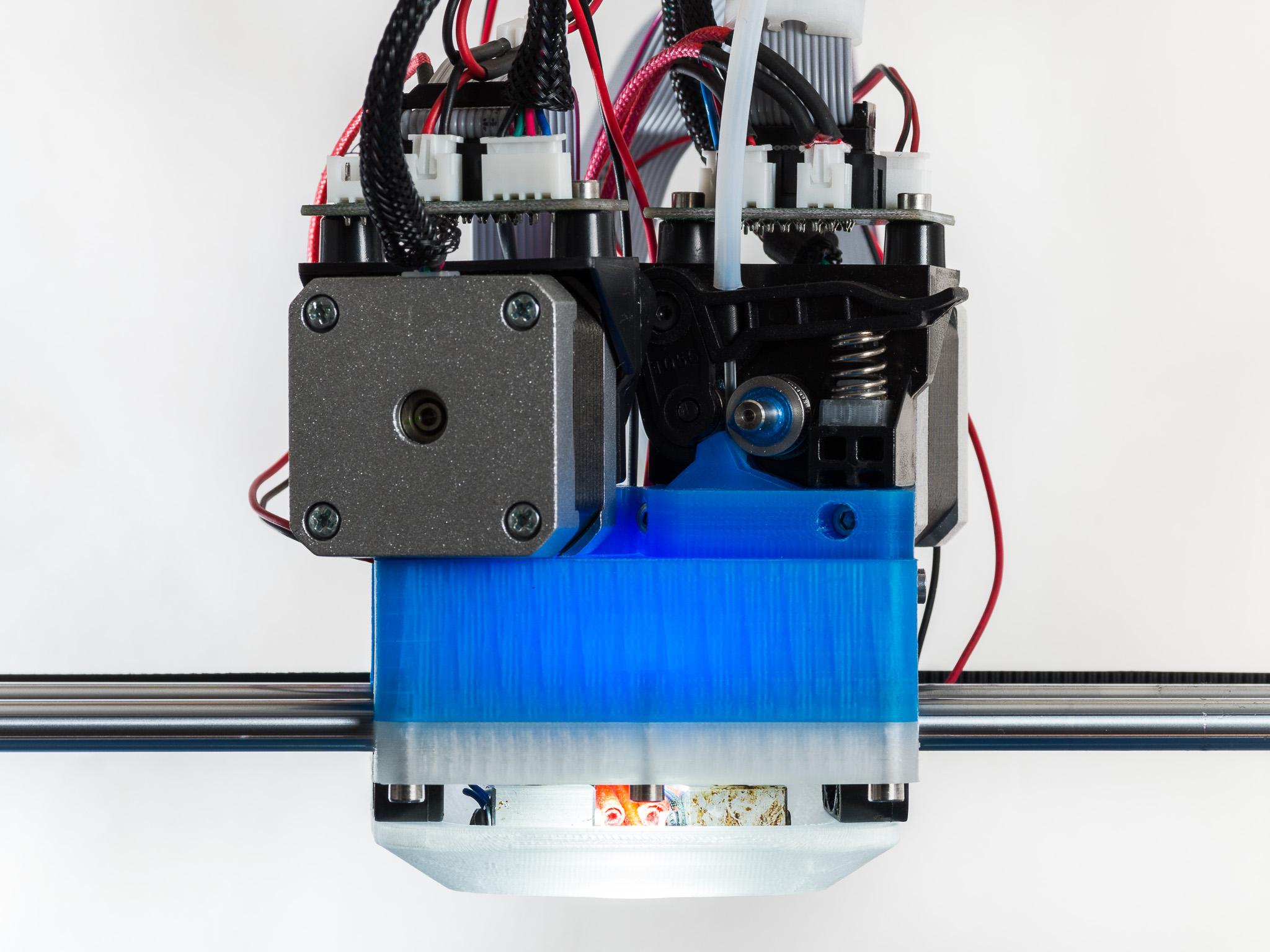 IMGP0042.jpg Download free STL file Jellyfish Mount (RigidBot Dual E3Dv6) • 3D printer object, WalterHsiao
