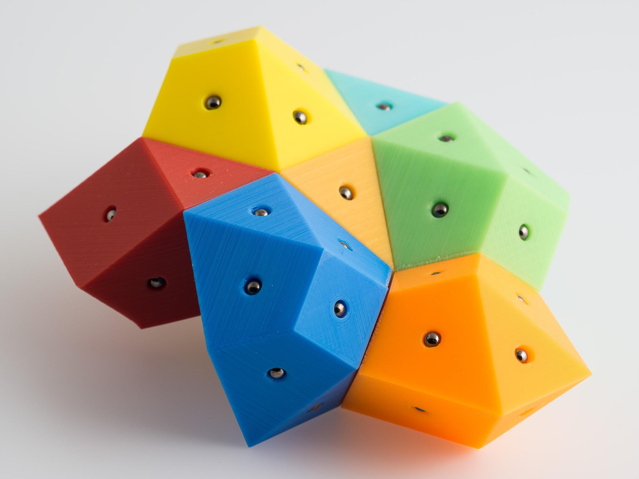 IMGP1653.jpg Télécharger fichier STL gratuit Hendécaèdres Bisymétriques Magnétiques Bisymétriques • Objet pour impression 3D, WalterHsiao