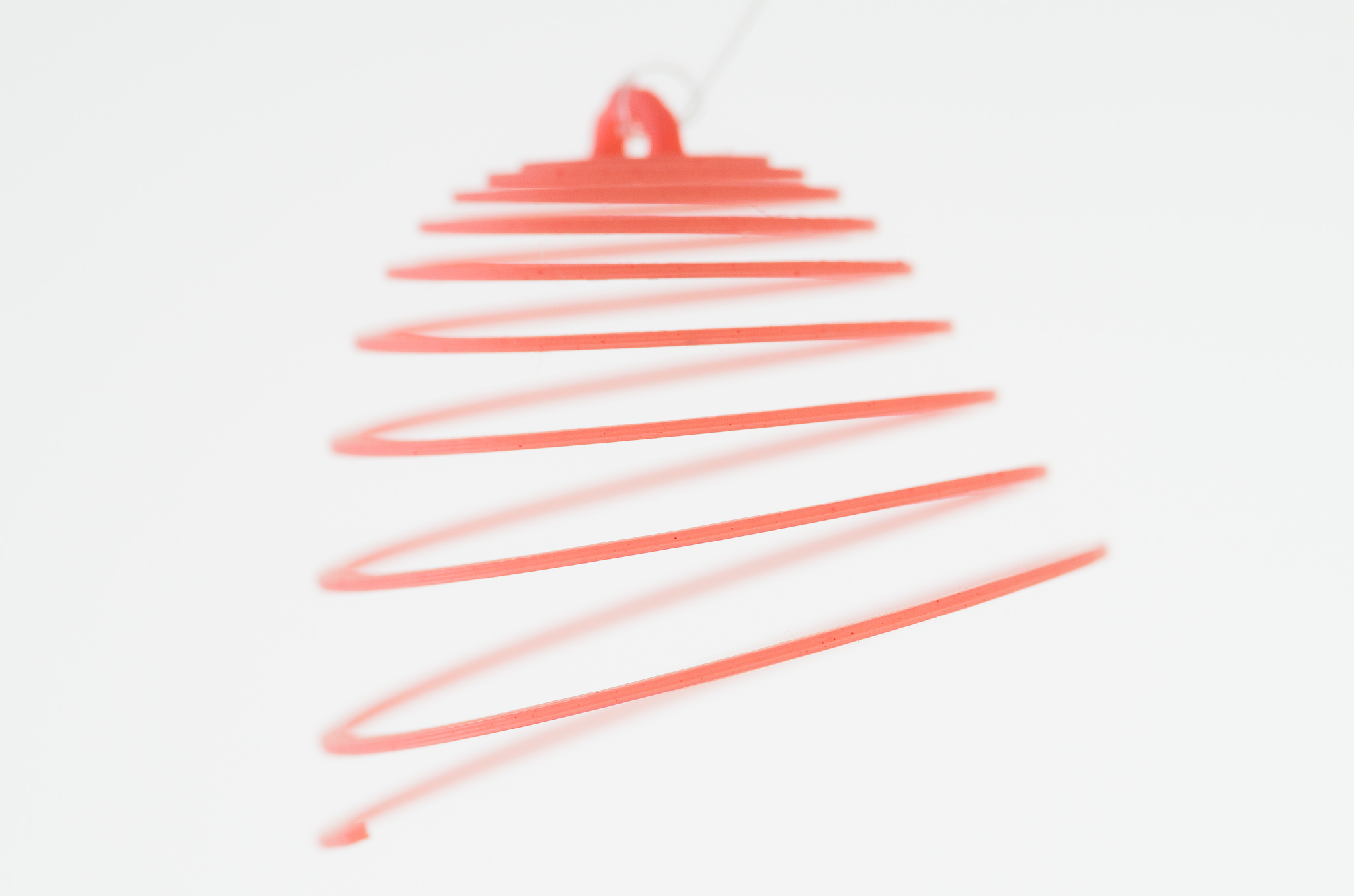 IMGP1568.jpg Download free SCAD file Customizable Hanging Spirals • Model to 3D print, WalterHsiao