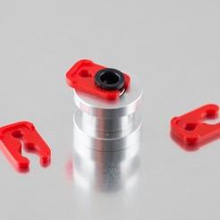Descargar modelo 3D gratis Clip de tubo Bowden, WalterHsiao