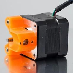 Télécharger plan imprimante 3D gatuit Boîtier d'engrenage d'extrudeuse (Printrbot Gear Head), WalterHsiao