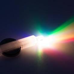 IMGP1066.jpg Télécharger fichier STL gratuit Fenêtre d'observation de la porte LED Lumineux • Design pour impression 3D, WalterHsiao