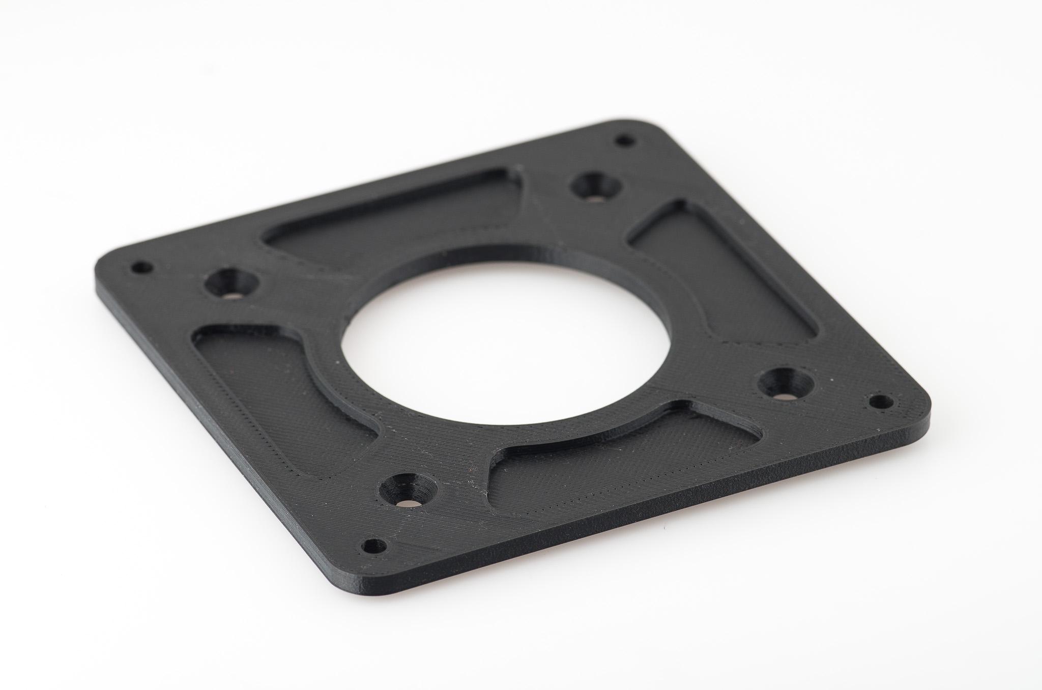IMGP4992.jpg Télécharger fichier STL gratuit Adaptateur de plaque de moniteur Vesa 75mm à 100mm • Plan à imprimer en 3D, WalterHsiao