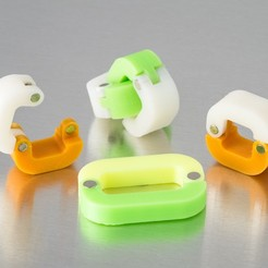 Download free 3D printing templates Customizable Magnetic Clip, WalterHsiao