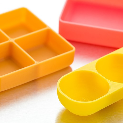 IMGP0499.jpg Download free SCAD file Customizable Square Trays • 3D printer design, WalterHsiao