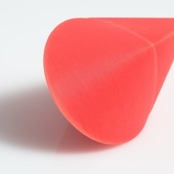 Download free SCAD file Oloid Roller • Object to 3D print, WalterHsiao