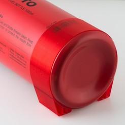 Télécharger modèle 3D gratuit Pieds de bouteille de carburant liquide, WalterHsiao