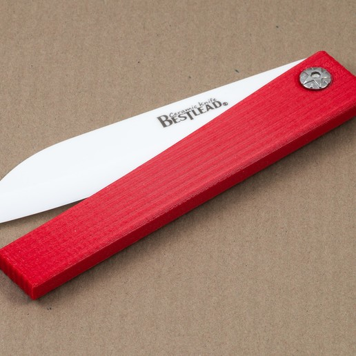 Descargar archivo 3D gratis Mango de cuchillo de cerámica, WalterHsiao