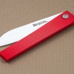 Download free STL files Ceramic Knife Handle, WalterHsiao