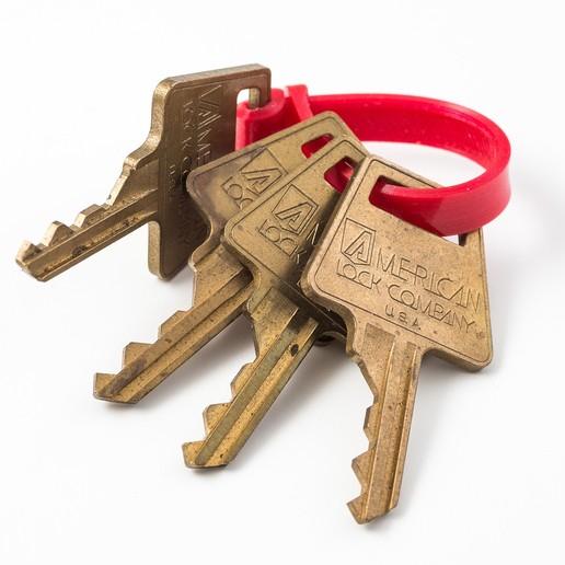 Télécharger fichier impression 3D gratuit Porte-clés sangle, WalterHsiao