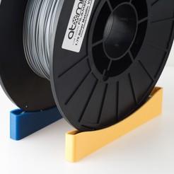 Download free 3D model Single Track Spool Holder, WalterHsiao