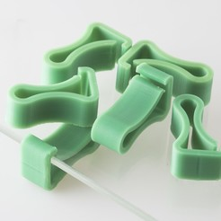Download free 3D printer designs 4mm Platform Clip, WalterHsiao