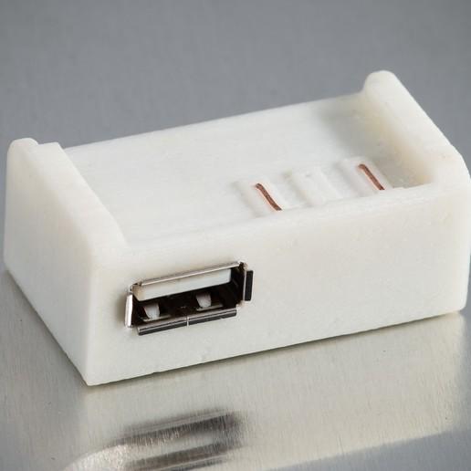IMGP1061.jpg Télécharger fichier STL gratuit Chargeur USB D-Li90 • Plan imprimable en 3D, WalterHsiao