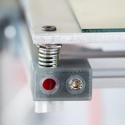 Impresiones 3D gratis Imprimir bloque de nivelación de la cama, WalterHsiao