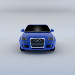Descargar STL Audi A3 Sportback 2004 Modelo 3D, MetGraphics