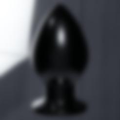 Download 3D print files Huge Butt Plug, FakeAlex