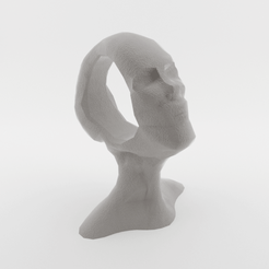 Download 3D printing files Thinking Head, ELISMA-3D