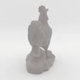 Download 3D printing models French Rooster, ELISMA-3D