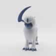 Télécharger STL Absol - Pokémon, ELISMA-3D