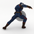 Download 3D printing files Captain America, ELISMA-3D