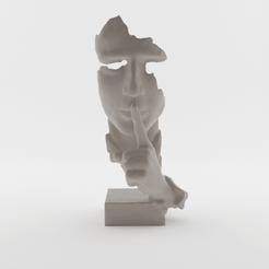 Download 3D model Silence is golden, ELISMA-3D