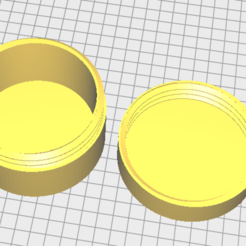 Download free 3D printing designs screw-on box, quentinloic57