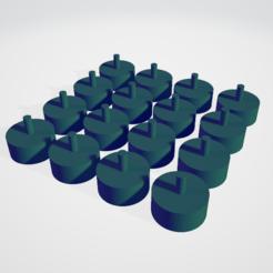 Imprimir en 3D Juego para memoria (matriz), jacobochico