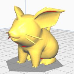Télécharger fichier imprimante 3D gratuit nidoran f, lucxho
