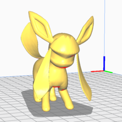 Download 3D printer templates Glaceon, lucxho