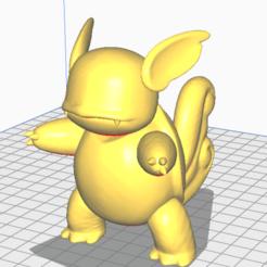 Télécharger plan imprimante 3D gatuit wartortle, lucxho