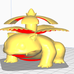 Télécharger objet 3D gratuit venasaur, pixelsgamers
