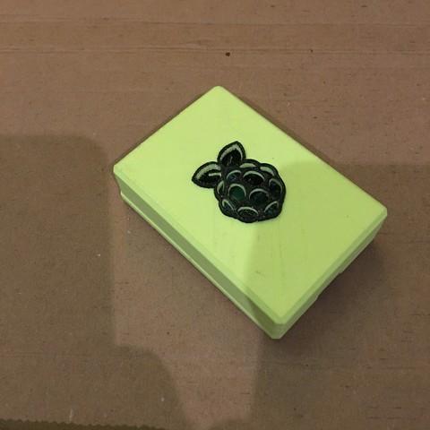 Modèle 3D gratuit Étui Raspberry Pi 3 (2 ou B +), masteruan