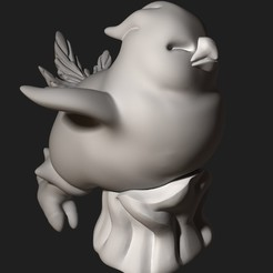Download free 3D printing designs Fat chocobo from Final fantasy XIV, Shinokez
